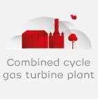 Combined cycled gas turbine plant