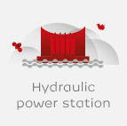 Hydraulic power station